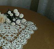 Для дома и интерьера ручной работы. Ярмарка Мастеров - ручная работа Винтажная квадратная салфетка. Handmade.