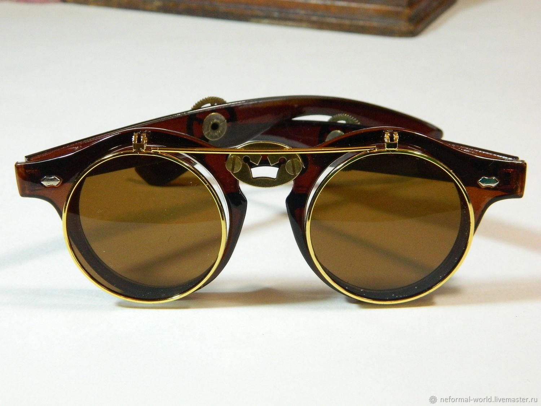 GLASSES GGOGLE STEAMPUNK 'CROWN', Glasses, Saratov,  Фото №1
