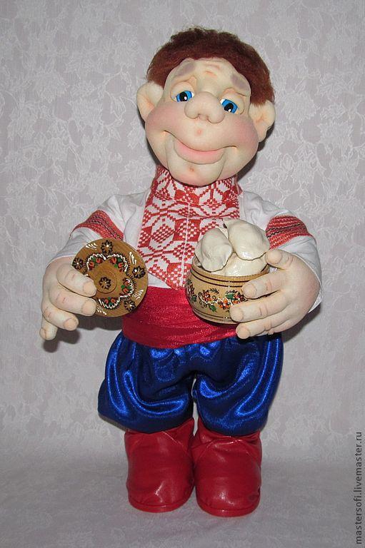 """Коллекционные куклы ручной работы. Ярмарка Мастеров - ручная работа. Купить Кукла """" Пойдём...... Посидим.."""" Кукла в технике скульптурный текстиль.. Handmade."""