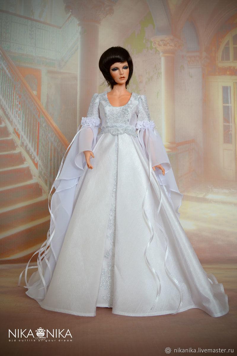 3c6b17c00501 Купить Эльфийское платье для · Одежда для кукол ручной работы. Эльфийское  платье для кукол 1 4 .