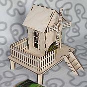 Материалы для творчества ручной работы. Ярмарка Мастеров - ручная работа Чайный домик Ветряная мельница. Handmade.