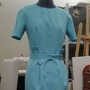 Одежда ручной работы. Ярмарка Мастеров - ручная работа Платье на хрупкую фигурку. Handmade.
