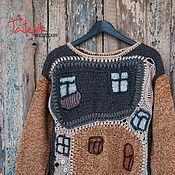 Одежда handmade. Livemaster - original item men`s knitted sweater
