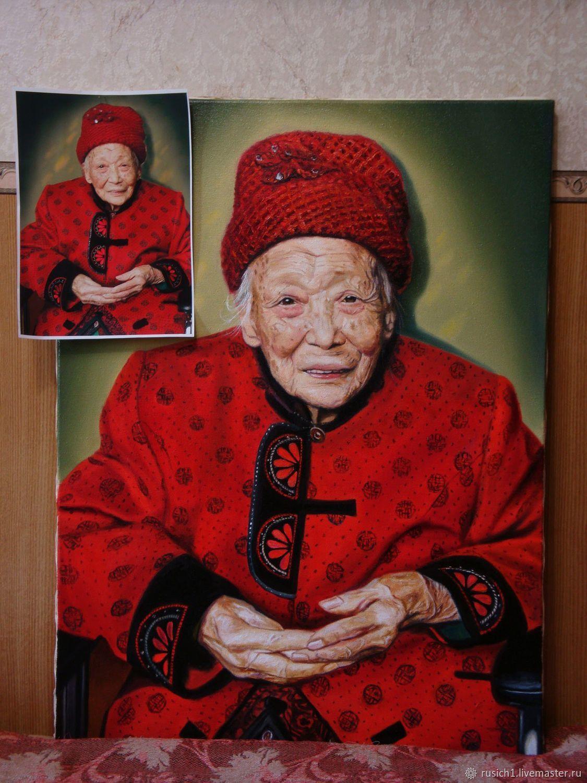 Портрет на заказ, Картины, Москва,  Фото №1