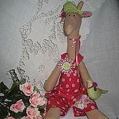 """Куклы и игрушки ручной работы. Ярмарка Мастеров - ручная работа Тильда """"Жирафа"""". Handmade."""