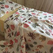 Для дома и интерьера handmade. Livemaster - original item Flax linen Listopad 1,5 SP. Handmade.