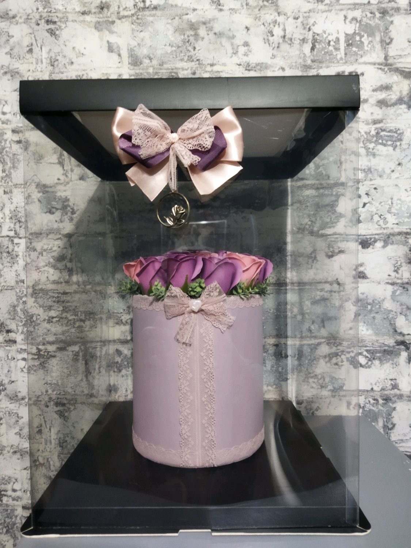 Розы из мыла в подарочной упаковке, Арома сувениры, Ростов-на-Дону,  Фото №1