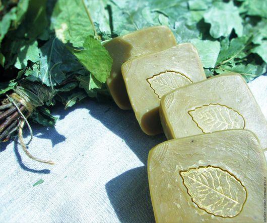 Мыло «Банное» на травах, натуральное