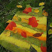 """Работы для детей, ручной работы. Ярмарка Мастеров - ручная работа Детский валяный сарафан """"Листопад"""". Handmade."""