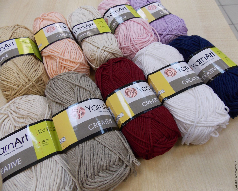 Пряжа для вязания крючком 35