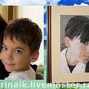 Картины и панно ручной работы. Ярмарка Мастеров - ручная работа Портрет в подарок по фотографии. Handmade.