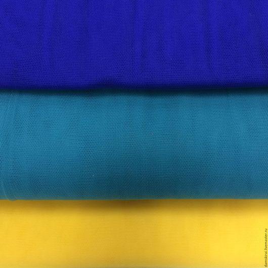 Шитье ручной работы. Ярмарка Мастеров - ручная работа. Купить Ткань Фатин. Handmade. Тёмно-синий, юбка