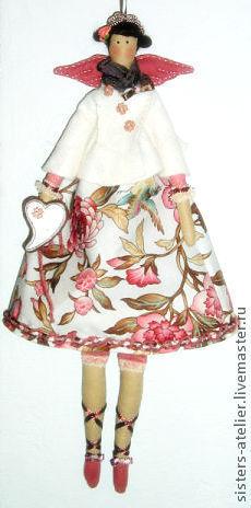 Куклы Тильды ручной работы. Ярмарка Мастеров - ручная работа. Купить текстильная кукла в стиле Тильда Ирма. Handmade. Тильда