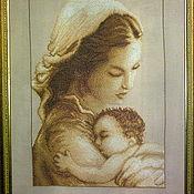 Мать и дитя вышивка лукас 19