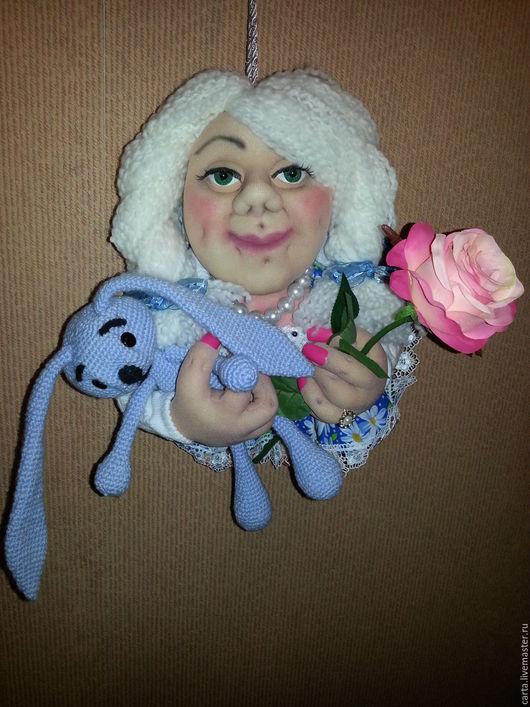 Коллекционные куклы ручной работы. Ярмарка Мастеров - ручная работа. Купить кукла попик. Handmade. Кукла в подарок, кукла из капрона