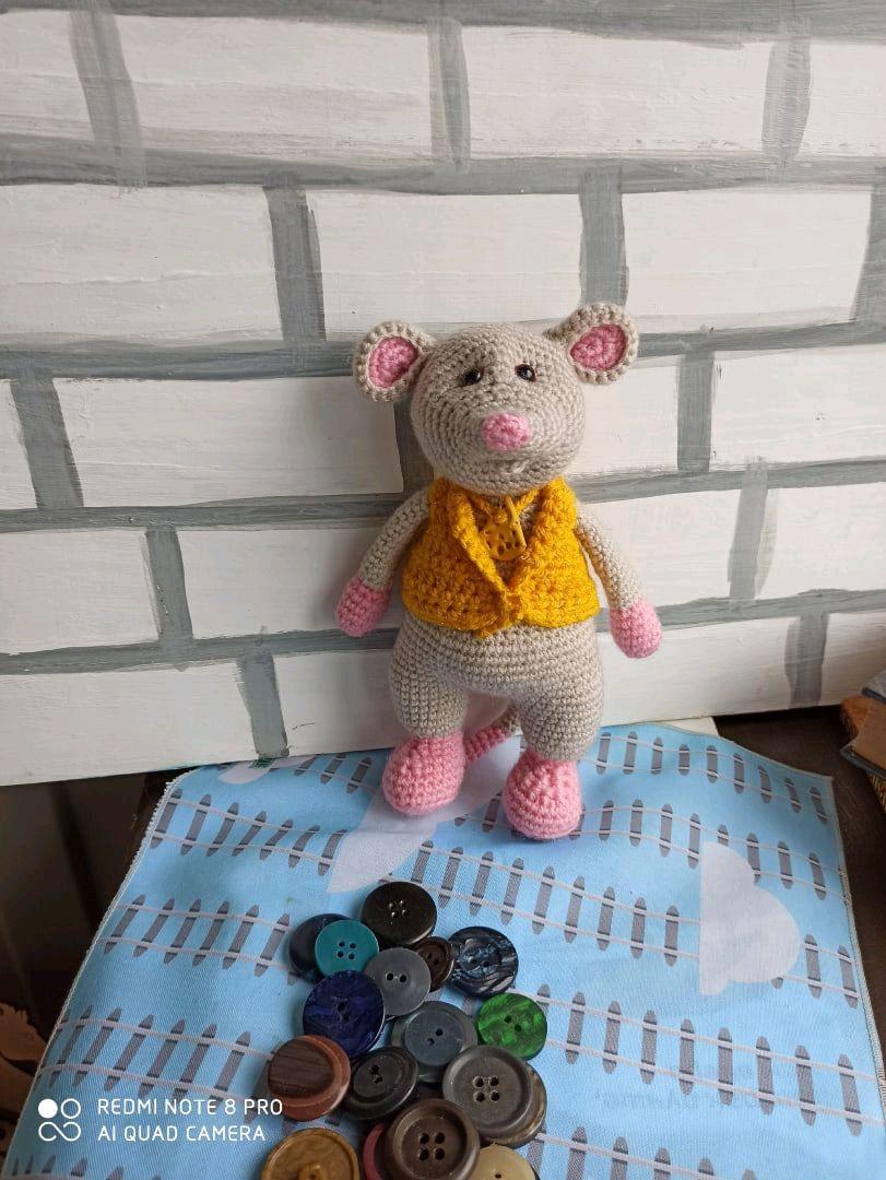 Мышь, Мягкие игрушки, Самара,  Фото №1