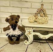 Куклы и игрушки ручной работы. Ярмарка Мастеров - ручная работа Мишка Маруся. Handmade.