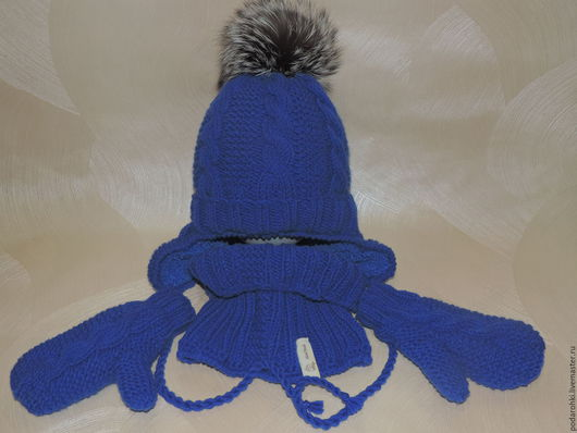 Шапки и шарфы ручной работы. Ярмарка Мастеров - ручная работа. Купить Шапка+шарф+варежки. Handmade. Комбинированный, комплект вязаный, шарф снуд