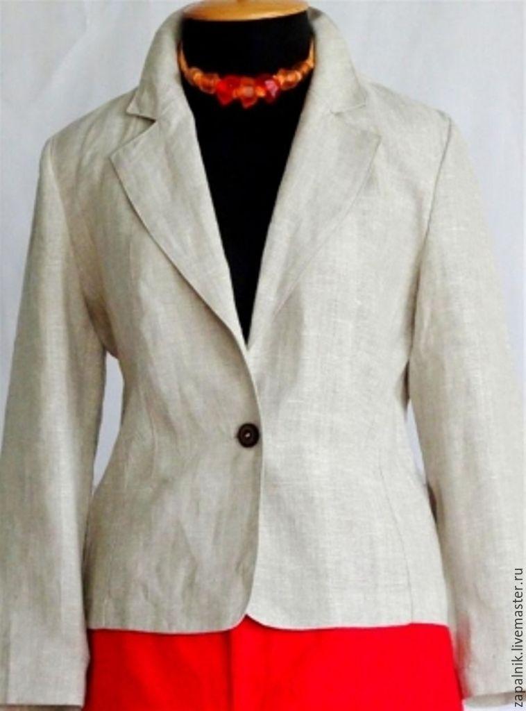 Простой пиджак своими руками 73