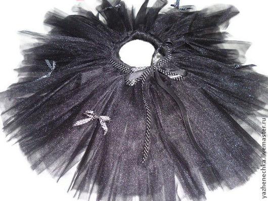 Одежда для девочек, ручной работы. Ярмарка Мастеров - ручная работа. Купить Юбка-пачка или tutu Черная кошка. Handmade.