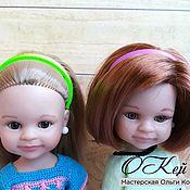 Куклы и игрушки handmade. Livemaster - original item Headbands for Paola Reina dolls. Handmade.