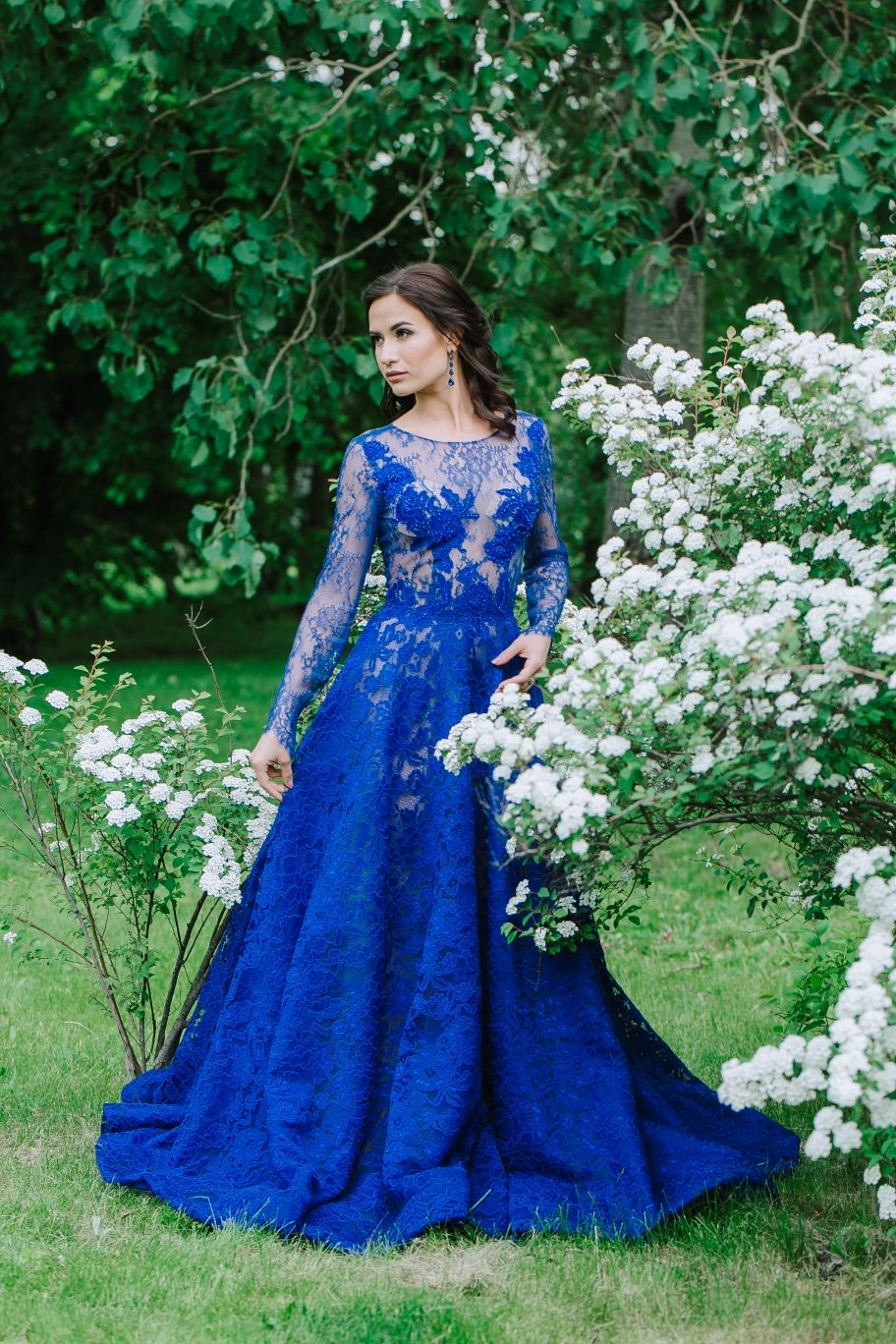 Вечернее платье dark blue, Платья, Москва,  Фото №1