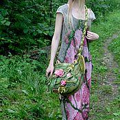 Одежда ручной работы. Ярмарка Мастеров - ручная работа Цветы, как всегда, в моде. Handmade.
