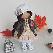 Куклы и игрушки ручной работы. Ярмарка Мастеров - ручная работа Текстильная куколка Lucy. Handmade.