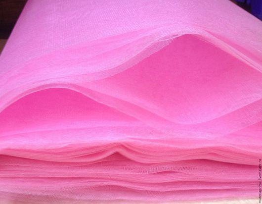 Шитье ручной работы. Ярмарка Мастеров - ручная работа. Купить фатин ярко-розовый. Handmade. Фатин ярко-розовый