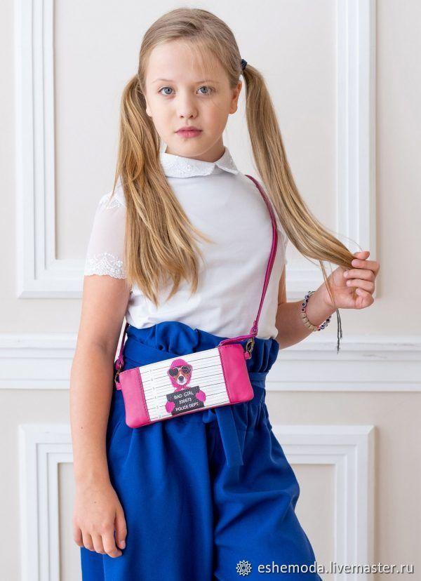 Детская мини сумочка Bad Girl fuksiya, цвет фуксия, Сумки, Москва, Фото №1