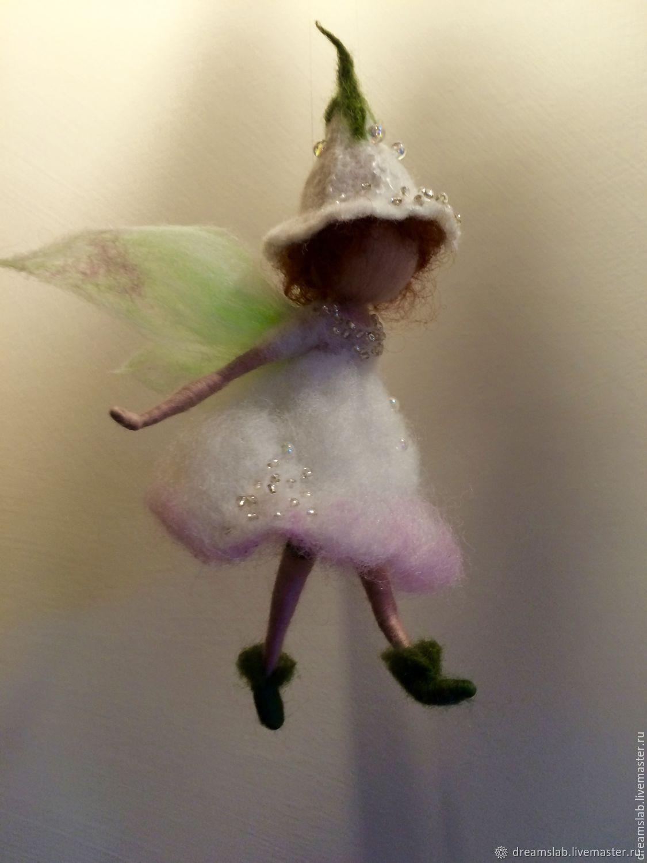 Needle Felted Flower Elf заказать на