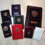 Сувениры и подарки handmade. Livemaster - original item Handmade accessories made of genuine leather. Handmade.