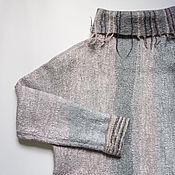 Одежда ручной работы. Ярмарка Мастеров - ручная работа Валяный джемпер Зимний рассвет. Handmade.