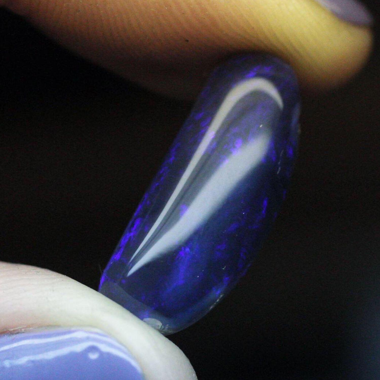 Australian black opal, Cabochons, Moscow,  Фото №1