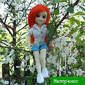 Куклы и игрушки ручной работы. Ярмарка Мастеров - ручная работа Мастер-класс. Ариана. Вязаная кукла. Handmade.