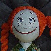 Куклы и игрушки ручной работы. Ярмарка Мастеров - ручная работа Аграфёнка-хиппушка. Handmade.