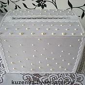 Свадебный салон ручной работы. Ярмарка Мастеров - ручная работа Коробочка для конвертов свадебная. Handmade.