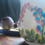 Посуда ручной работы. Ярмарка Мастеров - ручная работа Поле с люпинами. Handmade.