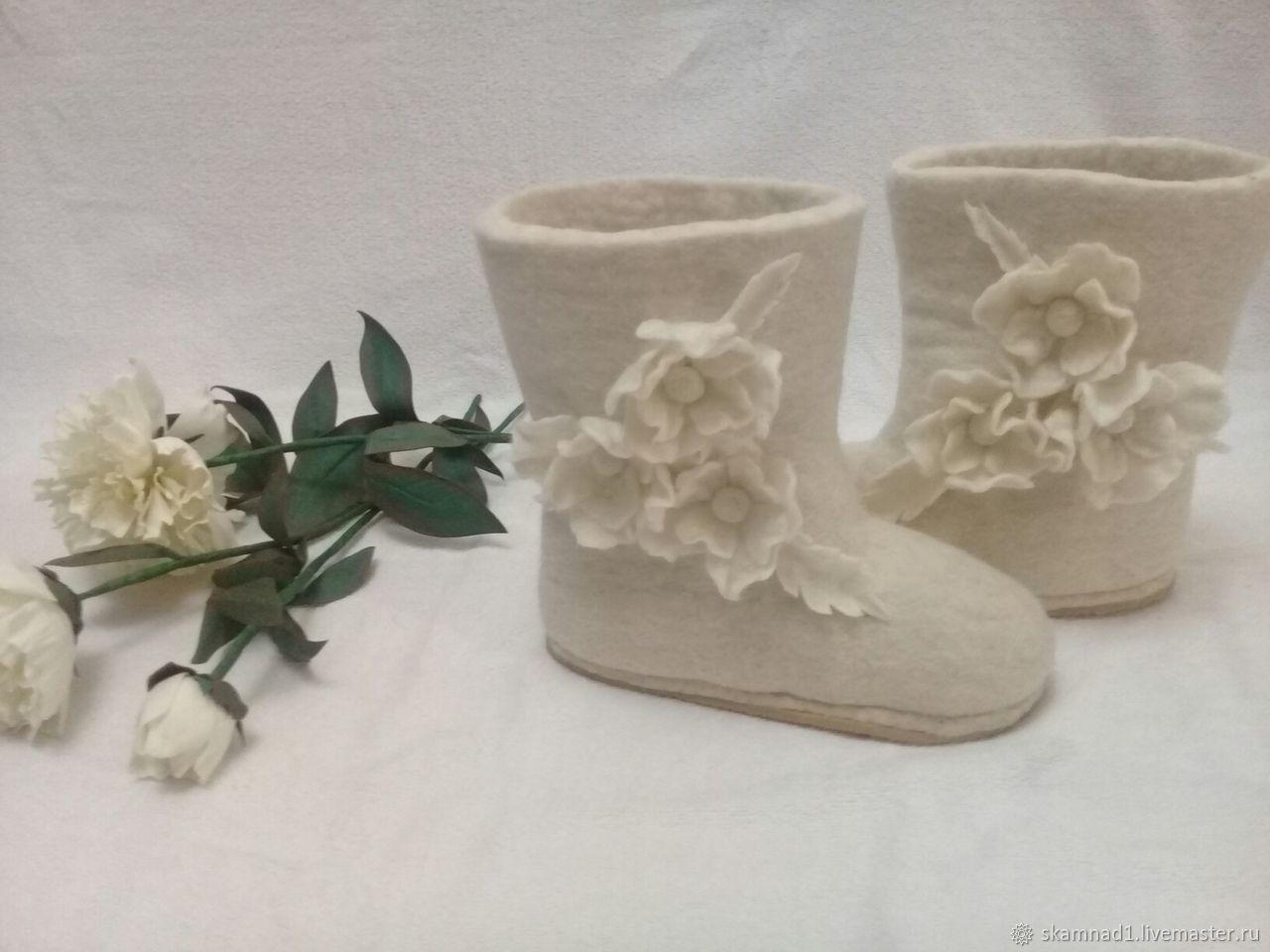"Валенки ""Цветущая зима"", Felt boots, Kazachinskoye,  Фото №1"
