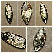 №634 Флогопит. Кабошоны из натуральных камней