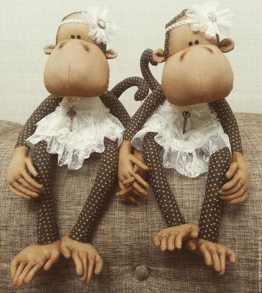 Куклы и игрушки ручной работы. Ярмарка Мастеров - ручная работа. Купить обезьянка Vannessa. Handmade. Символ 2016 года