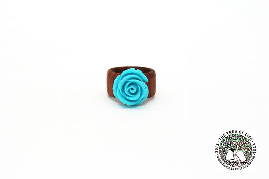 Кольца ручной работы. Ярмарка Мастеров - ручная работа. Купить Деревянное кольцо Роза. Handmade. Подарок девушке, свадьба
