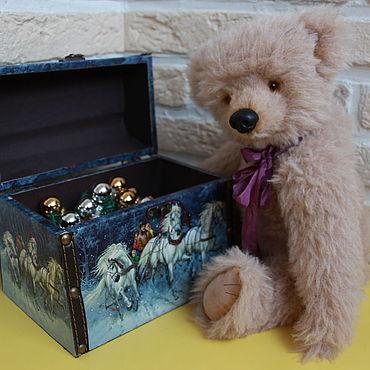 """Куклы и игрушки ручной работы. Ярмарка Мастеров - ручная работа Игрушки: Мишка Тедди """"Барни"""". Handmade."""