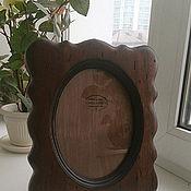 Сувениры и подарки ручной работы. Ярмарка Мастеров - ручная работа Большая настольная фоторамка из дерева. Handmade.