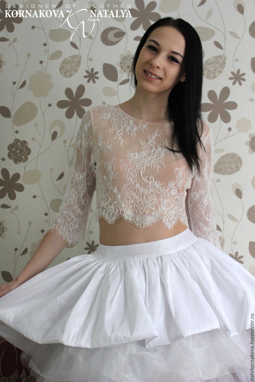 Кроп топ и юбка купить в москве