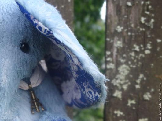 Мишки Тедди ручной работы. Ярмарка Мастеров - ручная работа. Купить Василинка. Handmade. Голубой, тедди, синий, глазки
