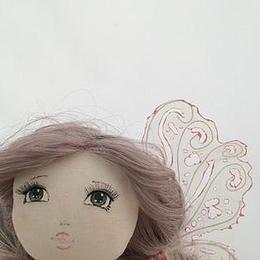 Куклы и игрушки ручной работы. Ярмарка Мастеров - ручная работа Цветочная кукла-фея. Handmade.