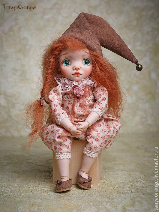 Коллекционные куклы ручной работы. Ярмарка Мастеров - ручная работа. Купить гномочка Ариша. Handmade. Малышка, кукла в подарок, девочка