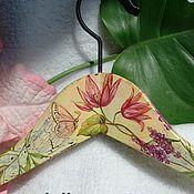Для дома и интерьера ручной работы. Ярмарка Мастеров - ручная работа Вешалка для одежды  Цветочная. Handmade.