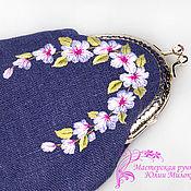 Сумки и аксессуары handmade. Livemaster - original item Wallet Soft violet. Handmade.